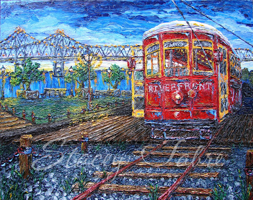 Streetcars' Riverwalk View
