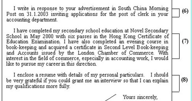 Definition solicited cover letter