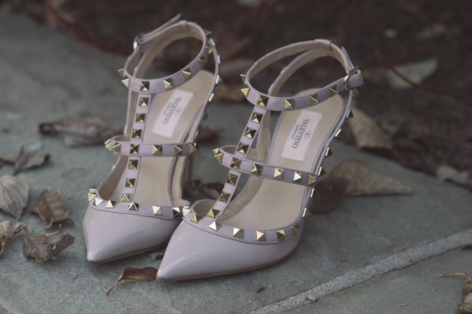valentino rockstud heels, melba nguyen, soletrekking, tory burch bags