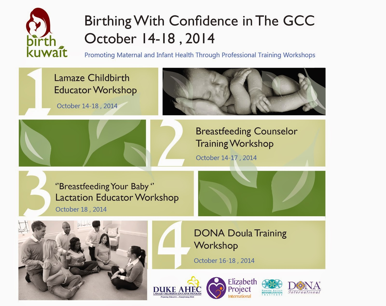 Birthing With Confidence 2014