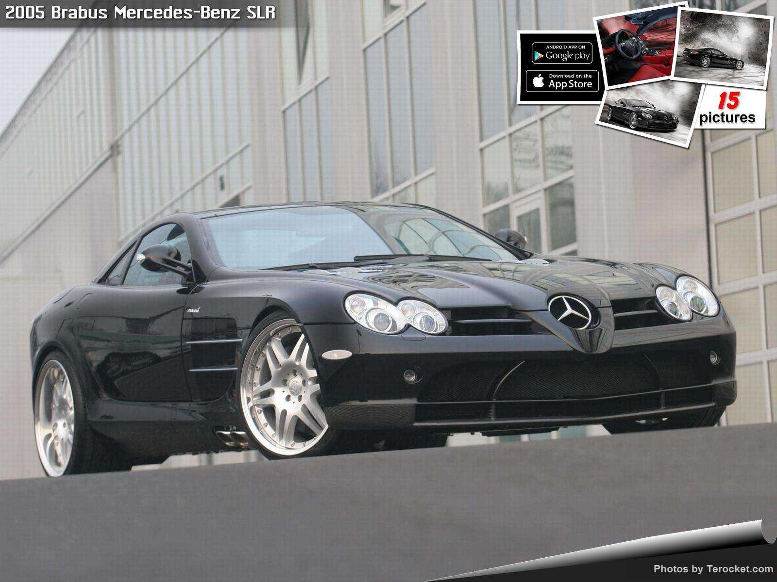 Hình ảnh xe ô tô Brabus Mercedes-Benz SLR 2005 & nội ngoại thất