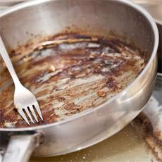 Cara Menghilangkan Bau Membandel Pada Wajan