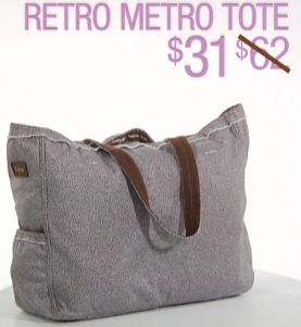 31 Retro Metro Tote