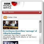 BBC World Service Widget
