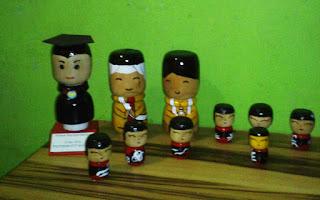 boneka kayu jepang - kokeshi store