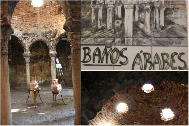 Sala central de los Banos árabes de Palma de Mallorca – Azulejos - Techo