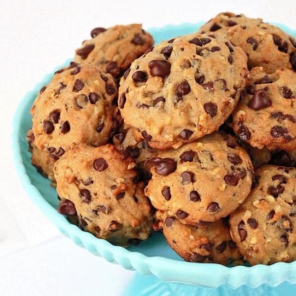 Receita: Cookie de banana com aveia e chocolate - De Batom ...