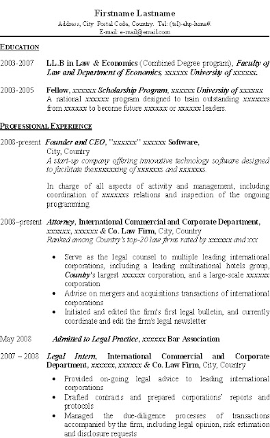 Resume For Llb Students Learn more at 2.bp.blogspot.com