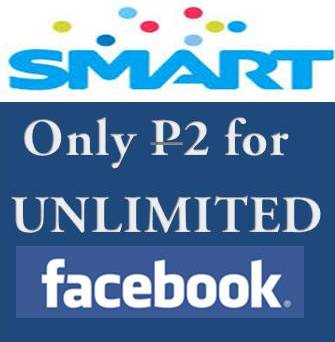 Smart Unli unlimited FB facebook access 2 pesos