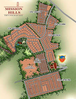 Mission Hills Antipolo at Havila Site Development Map