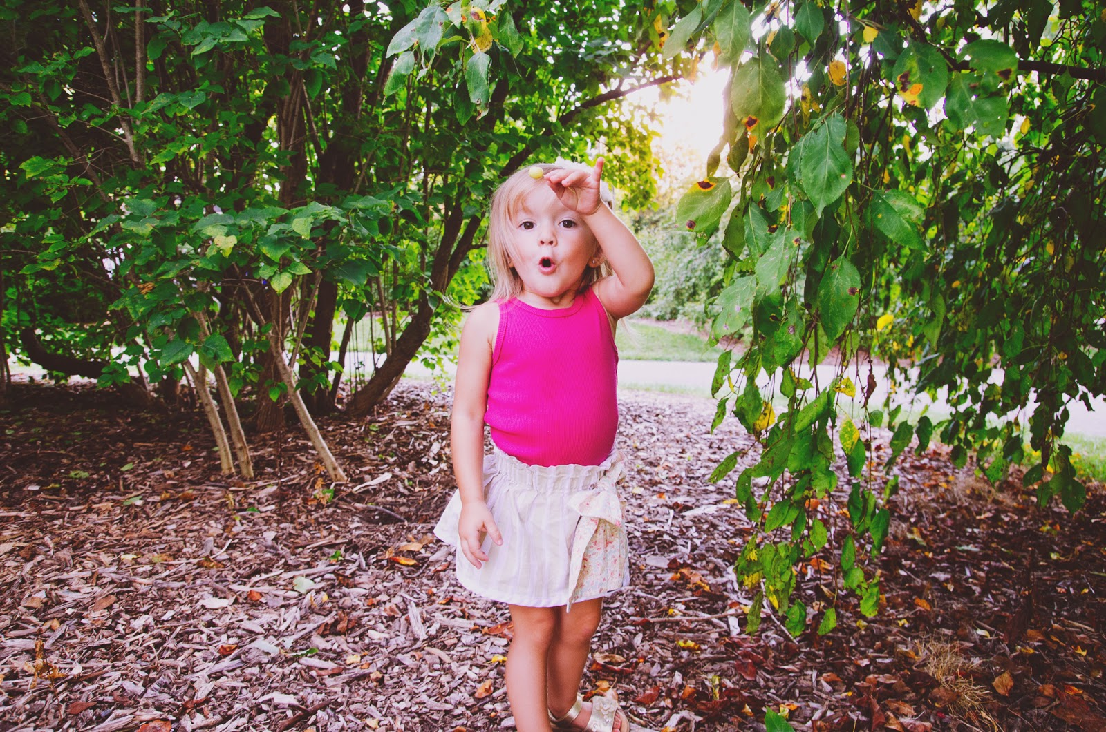 boho toddler has fun at her photoshoot in indianapolis