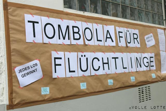 Hilfe, Tombola, Flüchtlinge, Ausländer