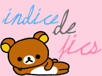 Index de fanfics ♥
