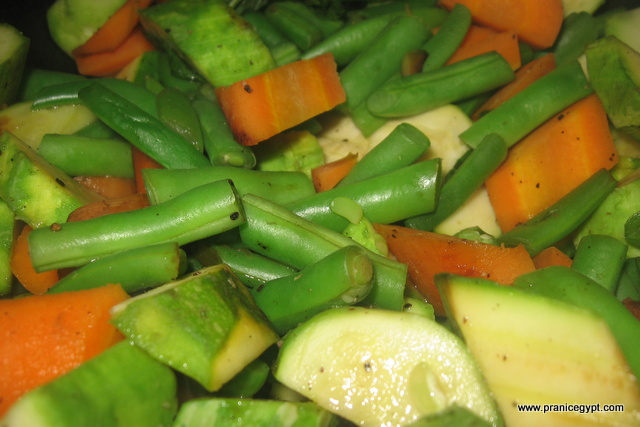 Steamed Green Beans And Carrots