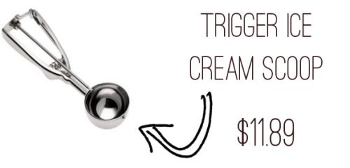 Trigger Ice Cream Scoop