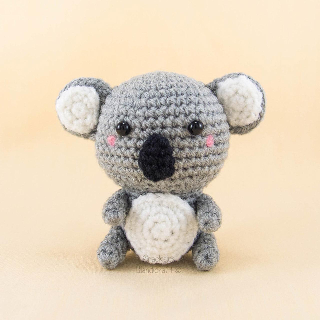 Crochet Pattern Koala Bear : Koala Bear Amigurumi ~ Snacksies Handicraft Corner