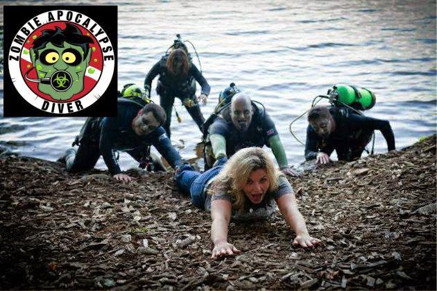 Image result for zombie scuba diver