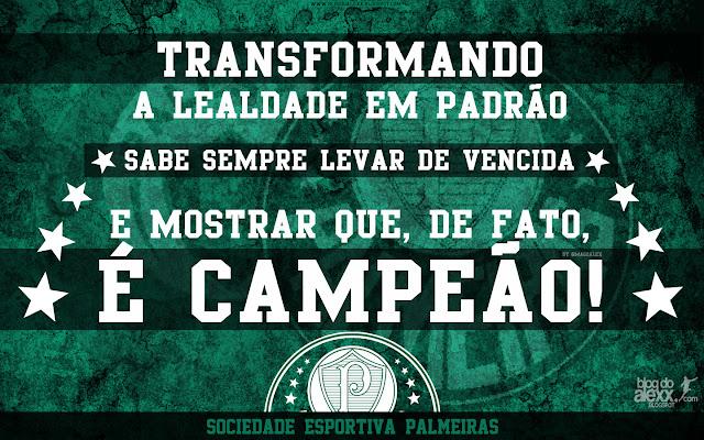 Sociedade Esportiva Palmeiras Wallpaper Palmeiras Lealdade em Padrão