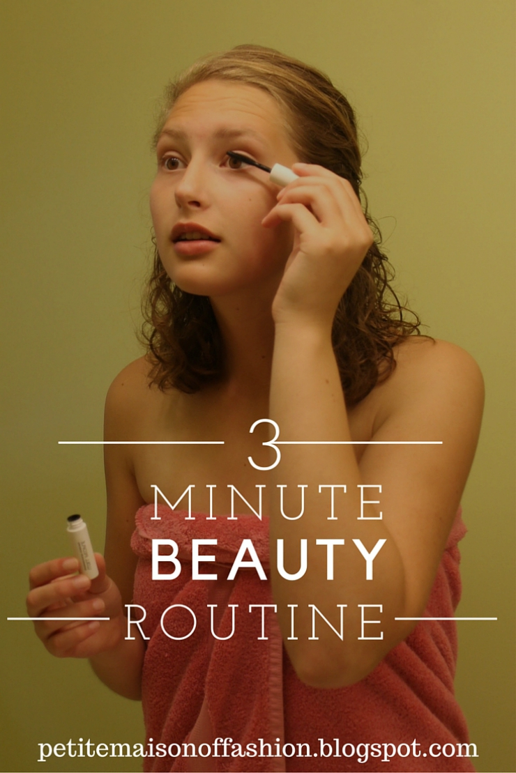 Easy 3 Minute Make Up Routine