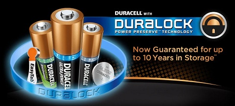 Duracell with Duralock