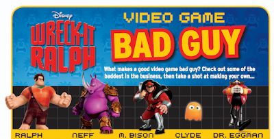 #WreckItRalph Bad Guys