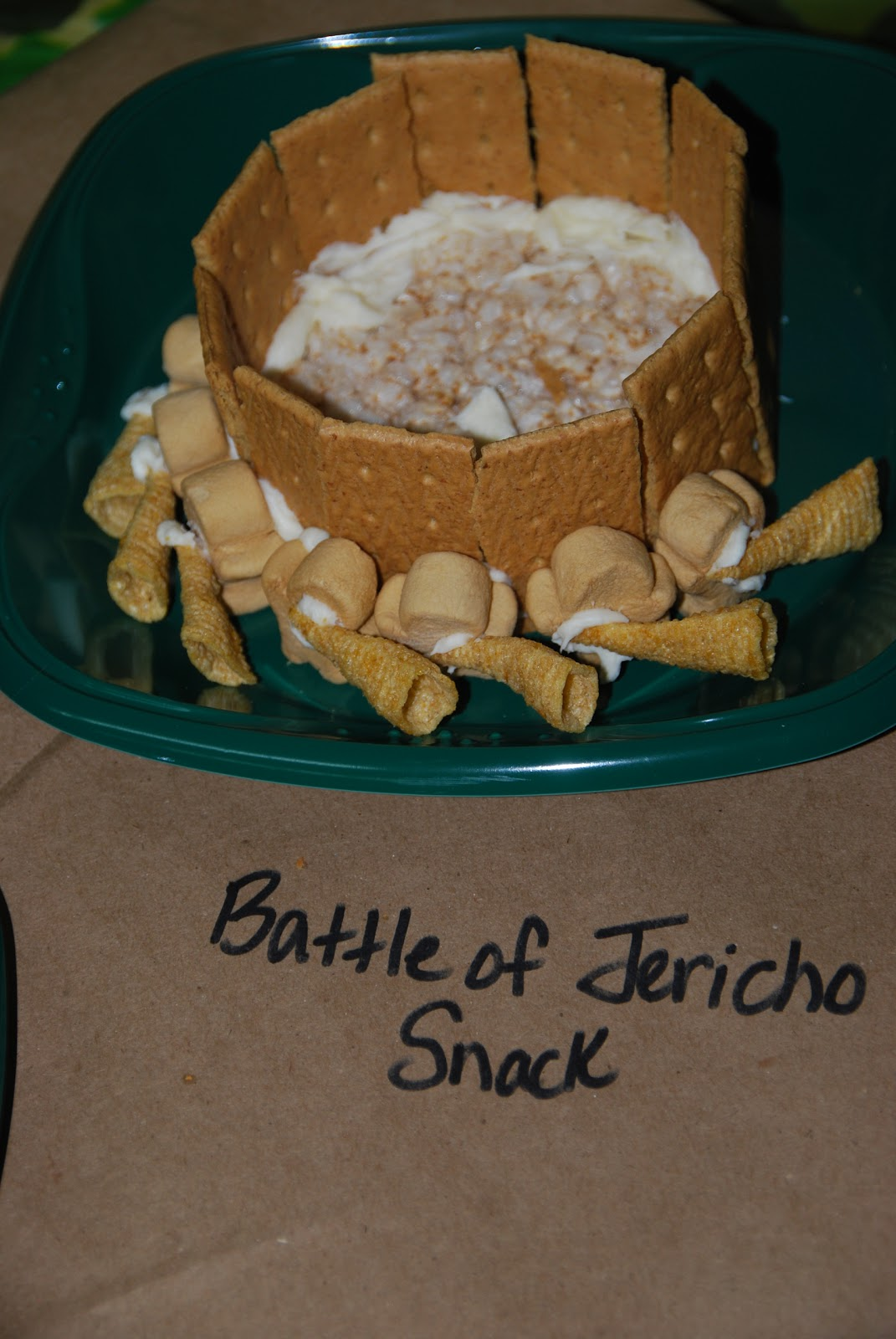 Joshua And The Battle Of Jericho VBS Snack Craft