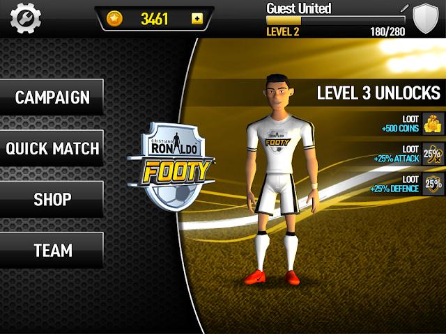 Cristiano Ronaldo Footy Android Apk Oyun resimi 3