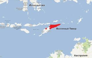 Восточный Тимор. Визовый режим.