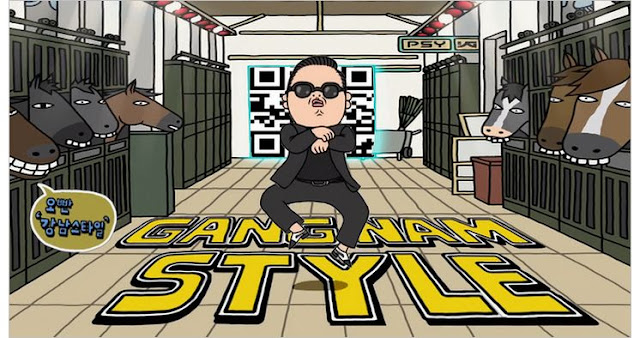 gangnam style is a part of