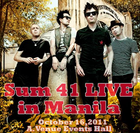 Sum 41 Live in Manila