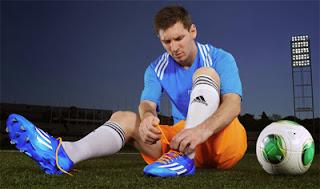 chuteiras coleção Samba Adidas Leo Messi Mundial Brasil 2014