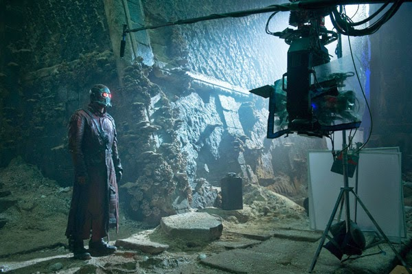 "Rodaje Christ Patt / Peter Quill / Star-Lord en ""Guardianes de la Galaxia"""