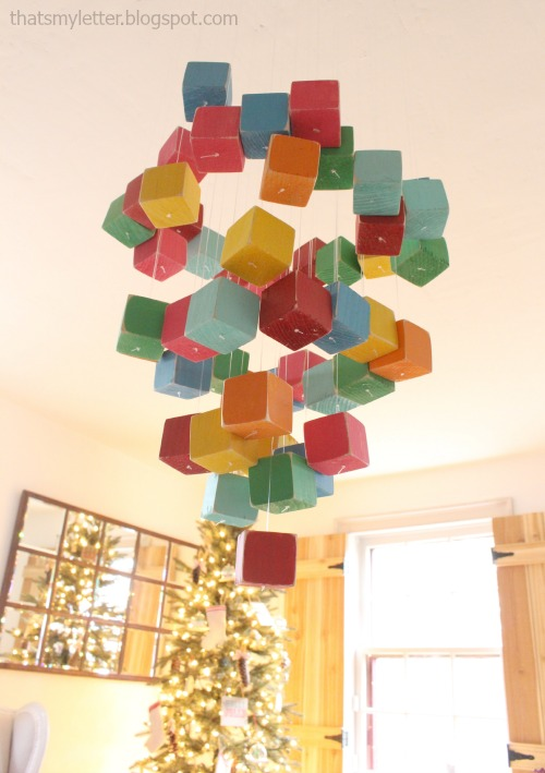 diy kids party chandelier