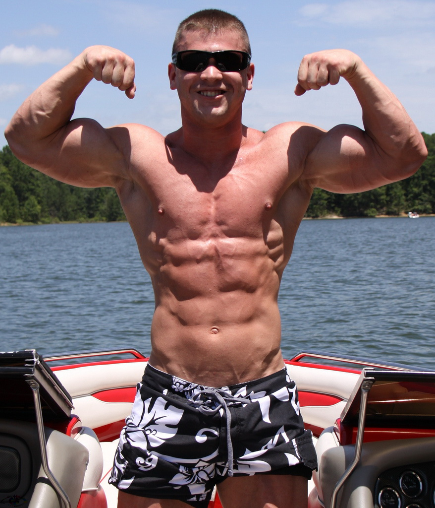 Lean Fit Shirtless Men Male Models Picture