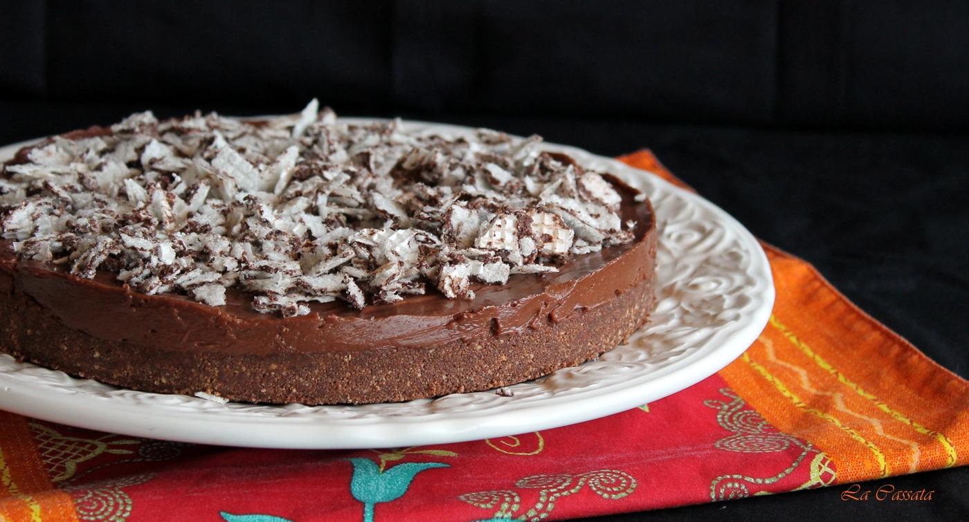 Cheesecake Alla Nutella Di Araba Felice La Mia Versione Senza