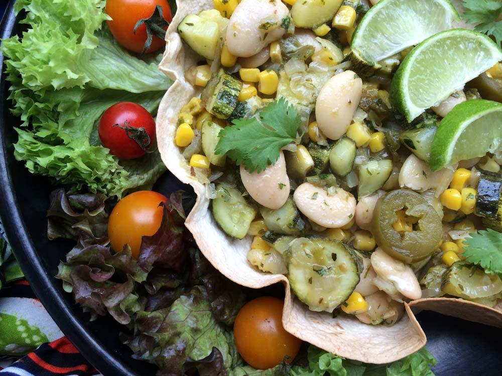 A2K - A Seasonal Veg Table: Calabacitas - Courgettes, Sweetcorn and ...