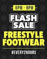 Paytm: Flash Sale men's Footwear with Every 2 hours Via Paytm:buytoearn