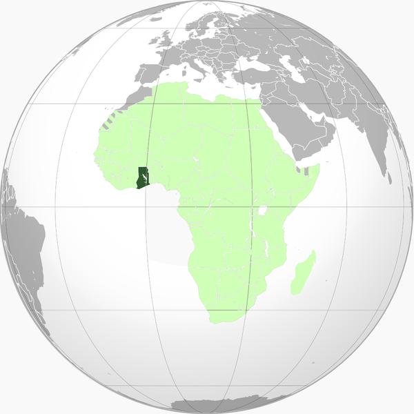 Globo Terráqueo Ghana