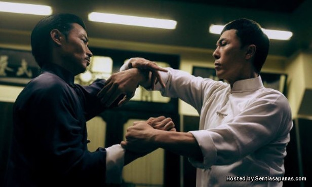 Donnie Yen vs. Zhang Jin