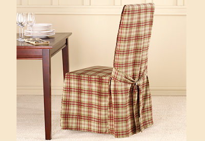 lexington plaid dining chair covers rustic all cotton style features