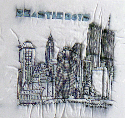 beastie boys textile art