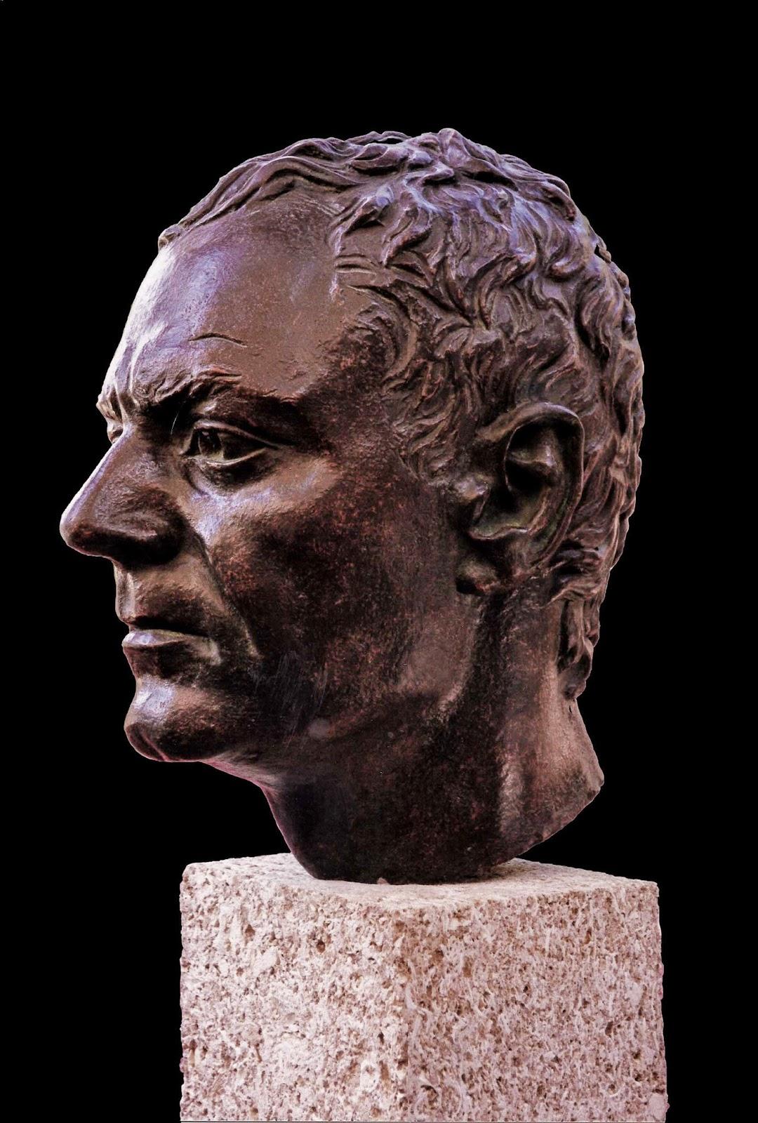 Retrato Modelo Arturo Serra escultura 3
