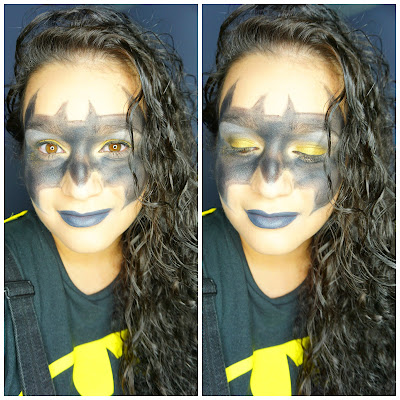 Batgirl look for Halloween