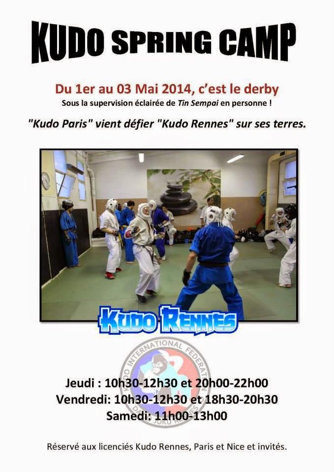 Kudo Spring Camp (Rennes 2014)