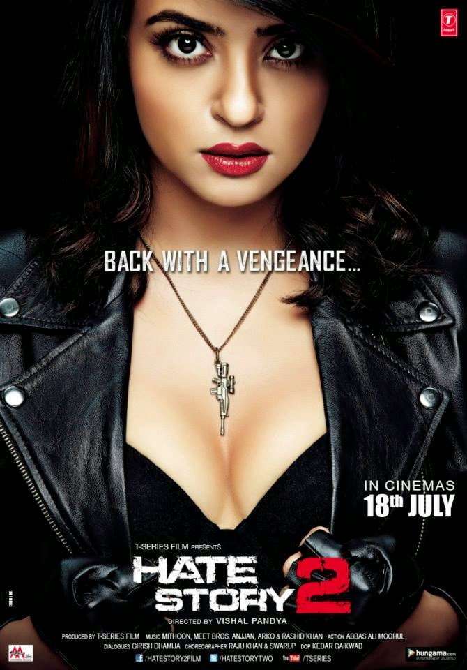 Hate Story 2 Poster