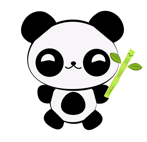 Aldii0219Tutos: Pandas Kawaii PNG