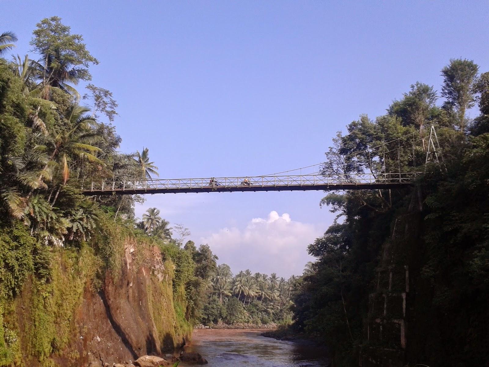 Jembatan Penghubung kearah Kalibawang