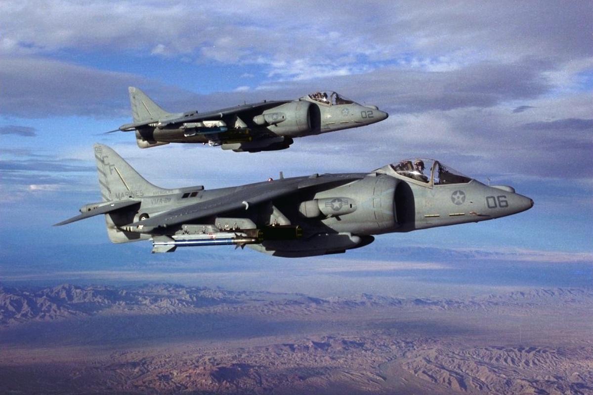 AV-8B Harrier II Wallpaper 1