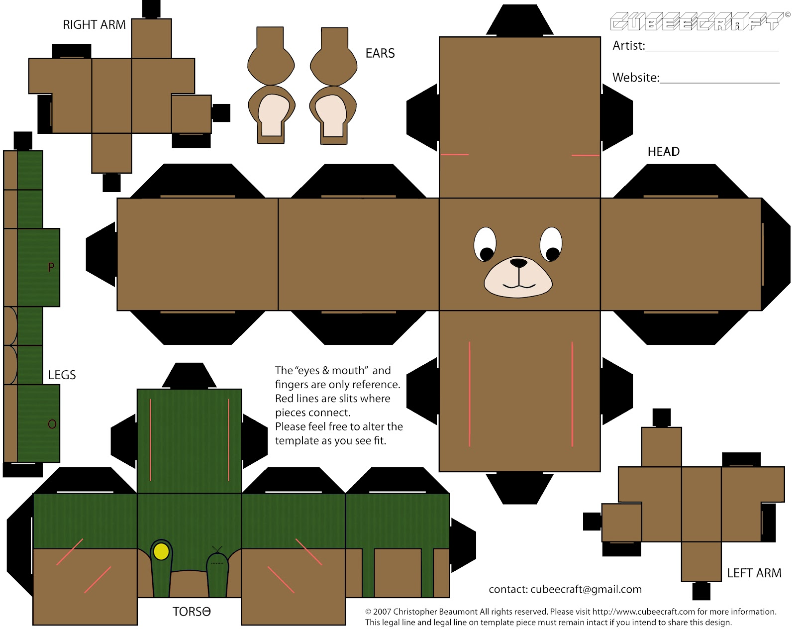 Displaying 13> Images For - Corduroy Teddy Bear Template...