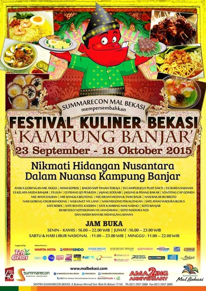 Festival Kuliner Bekasi 2015 Kampung Banjar